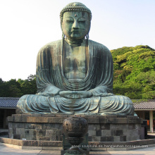 diseño popular al aire libre decoración bronce estatua de Buda