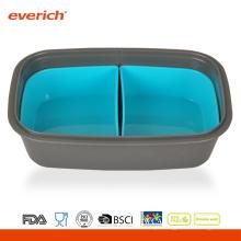 Novo Design Atacado BPA livre à prova de suor Bento Box
