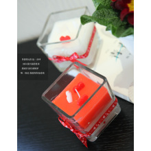 Lilin kaca Hadiah Lilin Holiday Candle