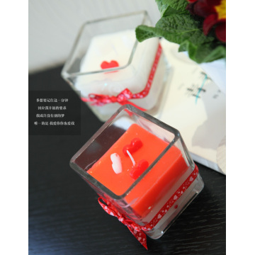Glass candles Gift Candle Holiday Candles