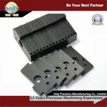 CNC Milled Parts by Black Anodized 6063 Aluminum