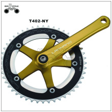 Fixed gear fietslegering kettingwiel en crankset