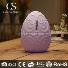 La forma del huevo de la decoración de la fábrica llevó la lámpara de mesa para el estudio de los niños