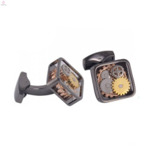 Trendy watch gear cufflinks, watch cufflinks antique jewelry
