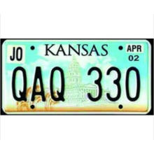 License Number Plate with 3D Car Plate Design of Licenese Plate