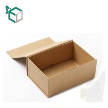 Boîte d'emballage de stockage de vêtements magnétiques de papier de conception de mode