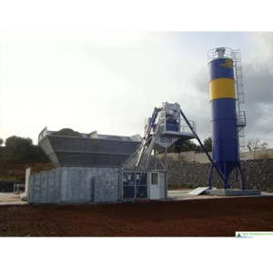 Fully Automatic Concrete Mixer Batching Plant Cement