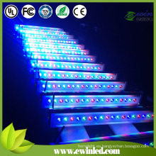 Arandela de pared DMX512 RGBW Light IP65 LED con 4in1