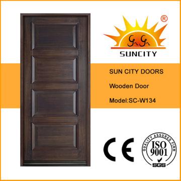 Стиль Турция межкомнатных деревянных Главная Конструкция двери (СК-W134)