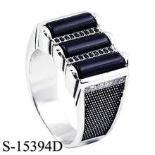 Einzigartige Entwurfs-Schmucksachen 925 Sterlingsilber-Ring für Mann