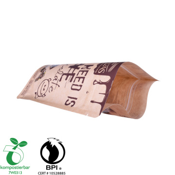 Reusable Kraft Paper Kantong Plastik Biodegradable Kecil
