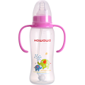 9oz PP Baby Milk Nursing Bottle With Handle