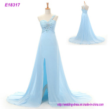 Элегантный Вышивка Цветы Пятна-Линии Вечернее Платье