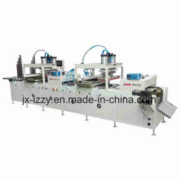 Double Side Printing Automatic Pad Printing Machine for 600mm Wooden Rulers
