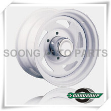 "Blade-Non Beadlock Wheels GS-50201 Steel Wheel from 15"" to 17"" with different PCD, Offset and Vent hole"
