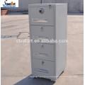 4 ящика несгораемого шкафа водонепроницаемый картотеке