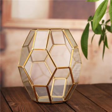high quality handblown glass terrarium for plant