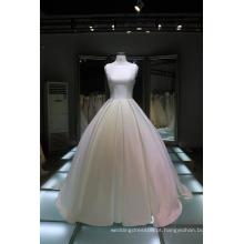 Os últimos vestidos de noiva mais populares projetam vestidos de noiva de casamento branco sweetheart back