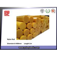 Barra redonda de nylon natural da amostra PA6 livre