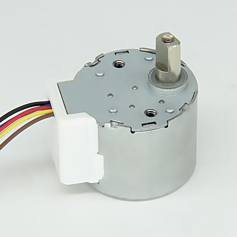 high torque stepper motor, high torque motor for air conditioner, high torque motor for air Fan, High Torque Stepper Motor with Gearbox