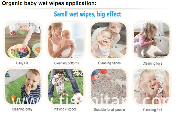 cleaning baby wipes