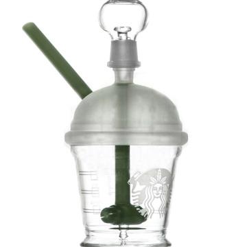 Mini Dabuccino concentrado Rig para fumar com cor clara (ES-GB-074)