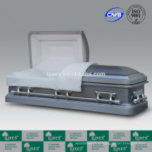 LUXES cercueils métalliques fabricant de la Chine pour les Etats-Unis