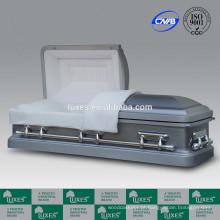 LUXES caixões Metal fabricante de China para os EUA