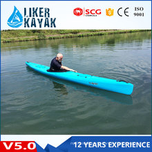 Factory OEM Top Quality Single Seat PE Kayaks for Touring