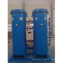 Machine de production de gaz à azote sur le site Psa Nitrogen