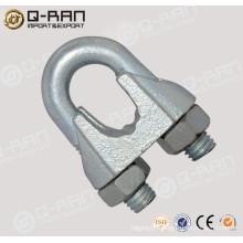 Maleável galvanizado DIN741 cabo clipes aparelhamento