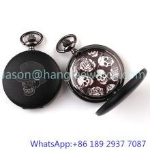 Reloj de bolsillo de alta calidad, cadena de aleación aleación caso 15103