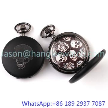Montre de poche de haute qualité, chaîne d'alliage avec boîtier en alliage 15103