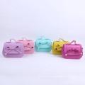 Dernière conception bébé filles bowknot sac à main mode décontractée sac d'école pour les enfants en gros prix candy couleur sac à main princesse