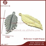 gold plated jewelry large feather angel wings