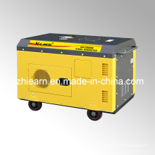 Air-Cooled Two Cylinder Diesel Generator Yellow Color (DG15000SE)