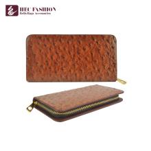 Хек изготовленных на заказ женщин большой емкости бумажник PU кожаный кошелек