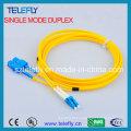 FC-LC Duplex Fibra Óptica Jumper, Jumper Cable