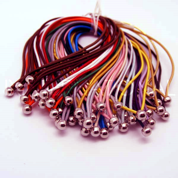 color elastic cord with ends