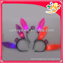 Flashing rabbit ears hairpin,ears headbands