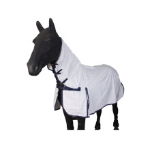 Kombi White Horse Fly Rugs Checked