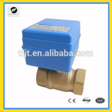 CR01 CWX-1.0 2NM mini electric ball valve instead of soleniod valve 12 v for water