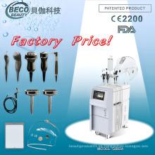 Equipo de rejuvenecimiento de la piel para el cuidado de la piel con oxígeno hiperbárico (G882A)