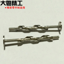 Brocas helicoidais transportadoras OEM e brocas flexíveis de tubos