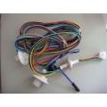 Câble de haut-parleur marron et bleu conducteur Cu