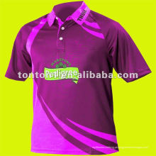 2015 Custom New Design Cricket Team Camisas