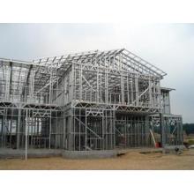 Pré-ingénierie à longue portée Structure en acier à structure étroite en acier préfabriqué ...