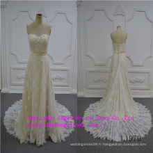 Robe de mariée bustier sexy sirène