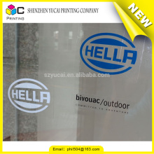 Hot sale custom printed self adhesive transparent sticker paper