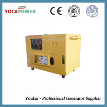 8kw Single Phase Small Diesel Engine Power Electric Portable Generator with 4-Stroke Diesel Generating Power Generation